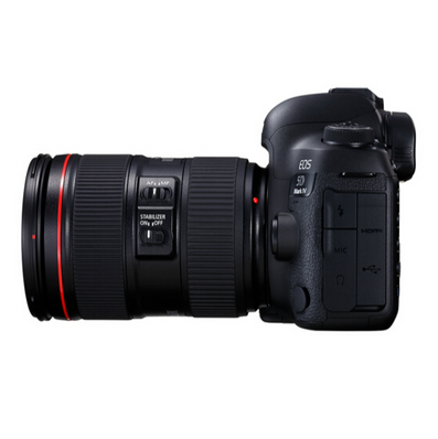 佳能/Canon EOS 5D Mark IV 套机(EF 24-105mm f/4L IS II USM) 数字照相机