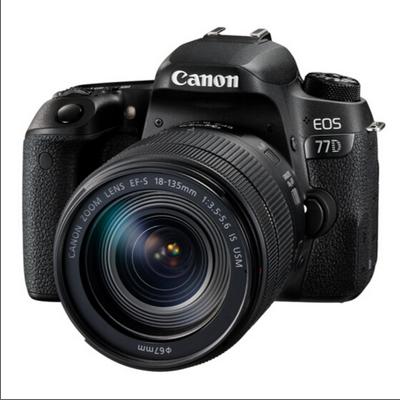 佳能/Canon 77D 套机(EF-S 18-135mm f/3.5-5.6 IS USM) 数字照相机
